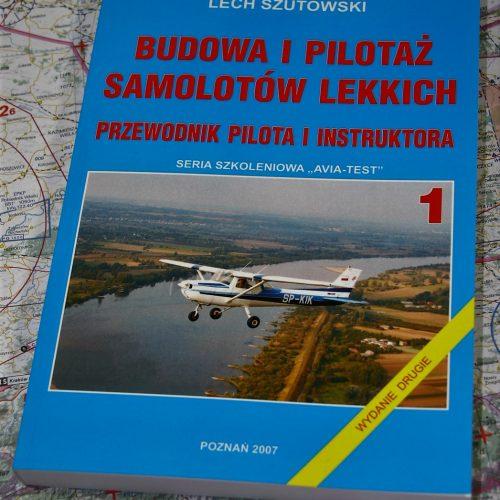 AVIA-TEST książka Budowa i Pilotaż Samolotów Lekkich