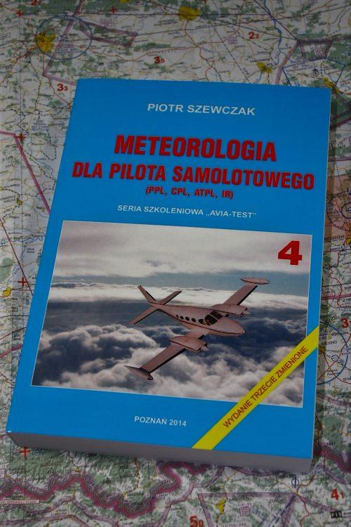 AVIA-TEST książka Meteorologia dla Pilota Samolotowego