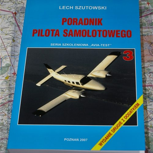 AVIA-TEST książka Poradnik Pilota Samolotowego